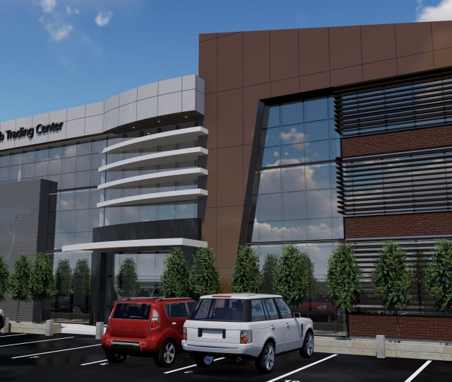 Projet Centre Commercial Ankorondrano